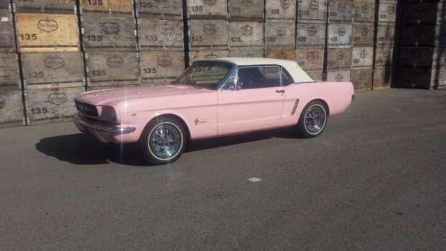 pretty-in-pink-mustang-medford-muffler